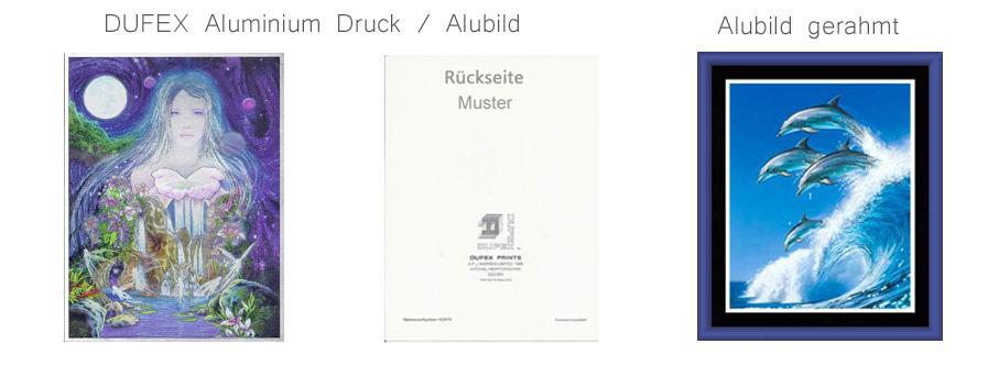 Alubilder - Original DUFEX Aluminium Drucke