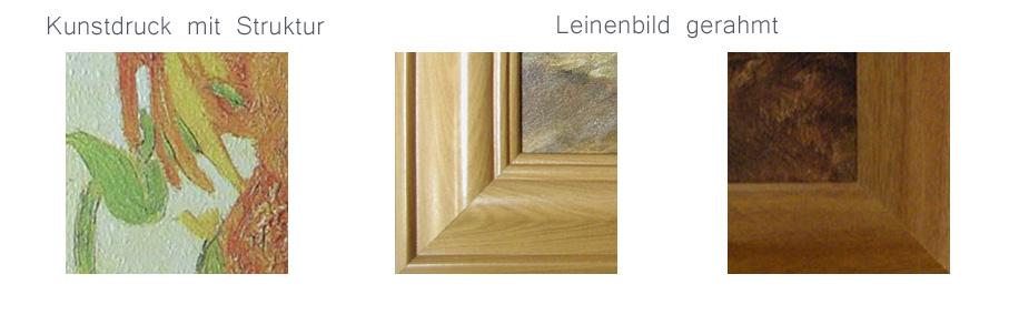 Hochwertige Kunstdrucke - Linenbilder, Leinenbilder