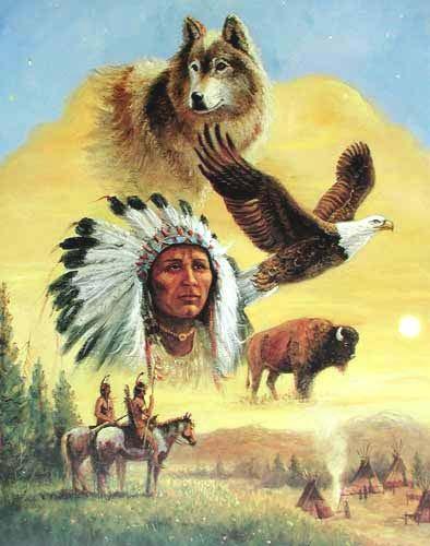 Sacred Chief by Marianne Caroselli