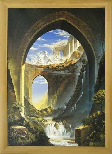 Wandbild: Journey of Life, Huber