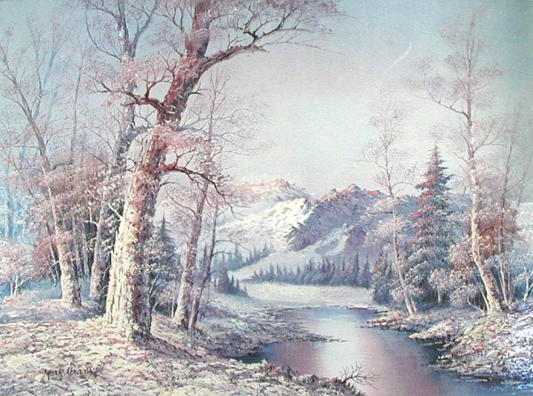 Winterlandschaft Bild