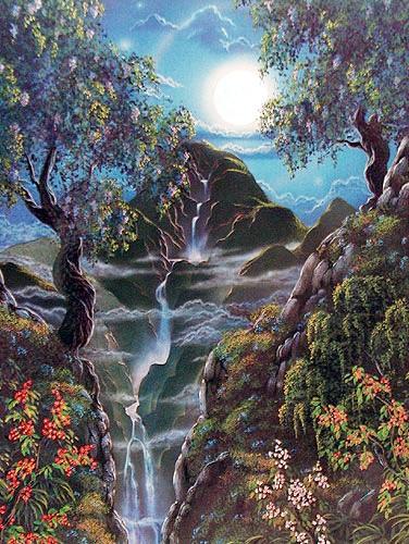 Fantasy Waterfall by Chris Thomas