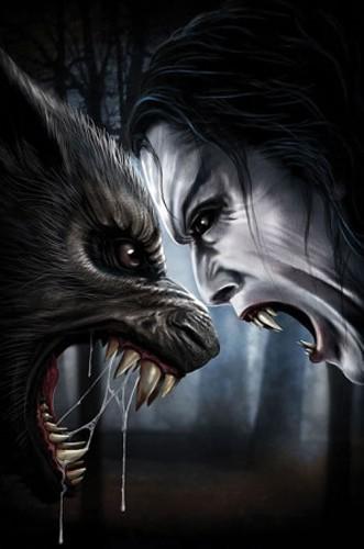 Wehrwolf und Vampir Poster 62x90 cm