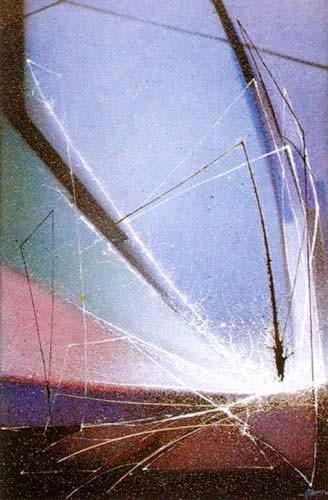 Abstraktes Bild Kunstdruck