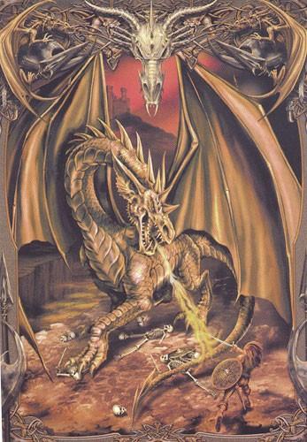 Drachentöter- großes Poster