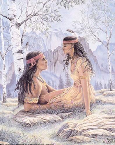 Indianer, Tagträumer Poster