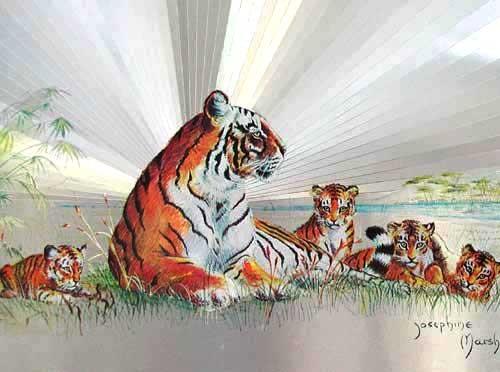 Tiger by Josephine Marsch