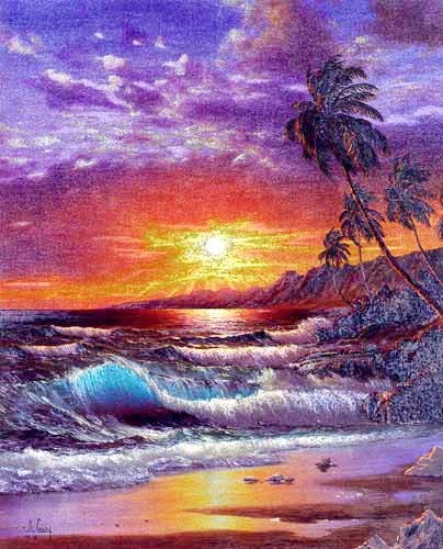 Tropical Paradise by Anthony Casay