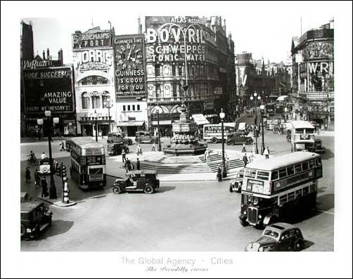 The Global Agency - Cities, The Picadilly Circus *