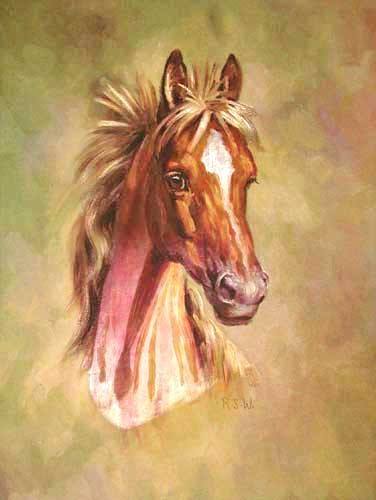 Horse`s Head by Rosemary Sarah Welch