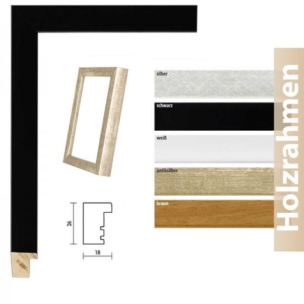 Holzrahmen im Bauhaus-Stil Profil 58
