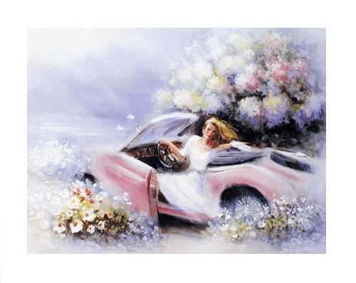Mädchen im Auto by S. Rachelle