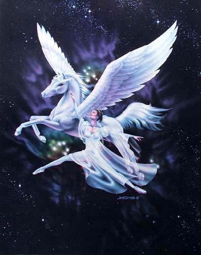 Pegasus und Ballerina by Sue Dawe