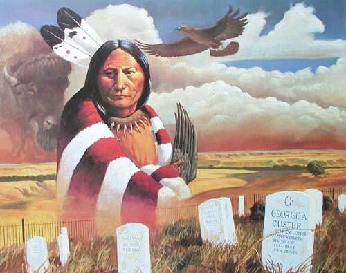 Sitting Bull by Dirk Jordan