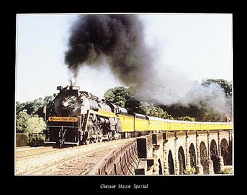 Dampfeisenbahn Poster 40x50