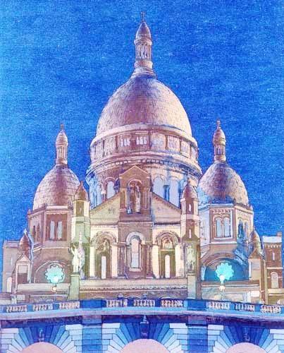 Sacre-Coeur Alu Bild