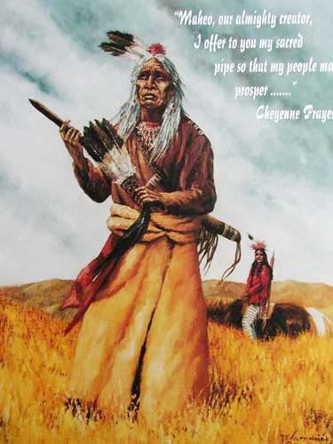 Cheyenne Prayer by Vogtschmidt
