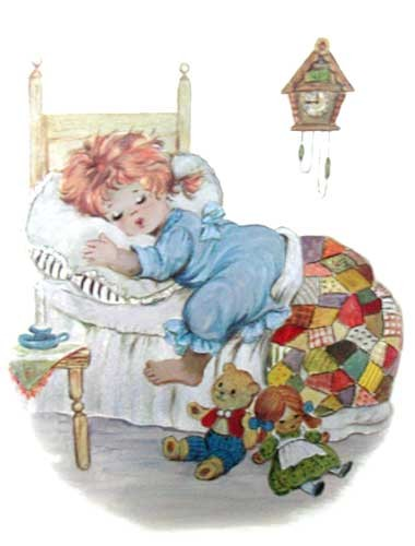 Süße Träume Alu Bild 21x26
