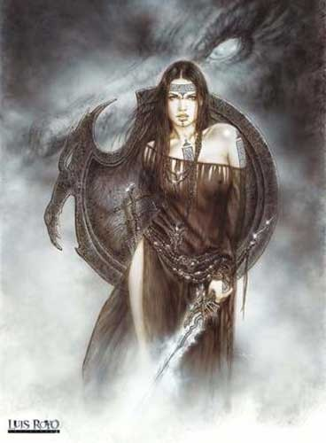 Dragon Spirit Luis Royo Poster