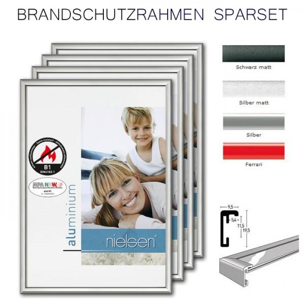 Nielsen Brandschutzrahmen DIN A3, Classic im 4-er Set