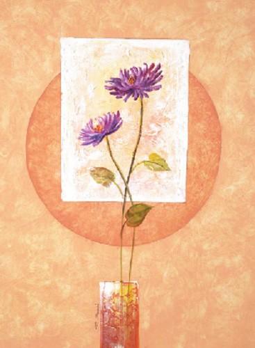 Blumen, Flores Sobre Cuadrado I, S. Sauci
