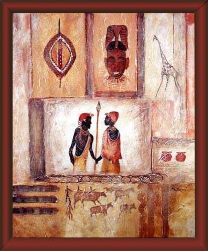 Wandbild Afrikanische Kunst