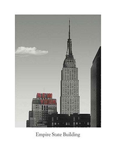 Empire State Building, New York - Poster