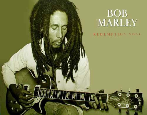"Marley Bob ""Redemption Song"" by Dennis Morris (laminiert) *"