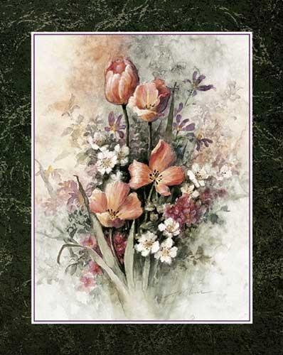 Tulpen von Chiu Kunstdruck