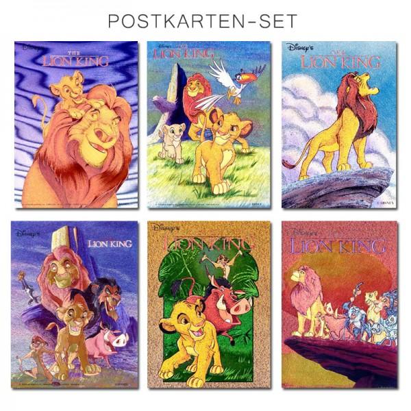 König der Löwen Postkarten-Set