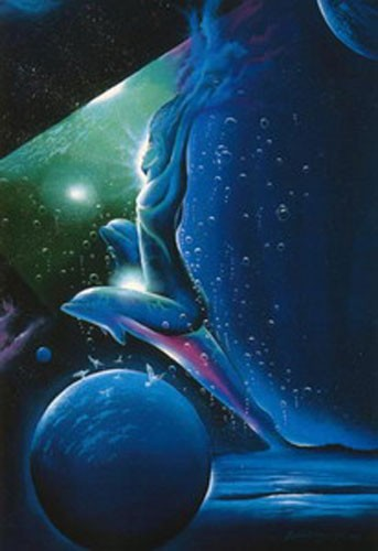 Delfine Fantasie II Poster