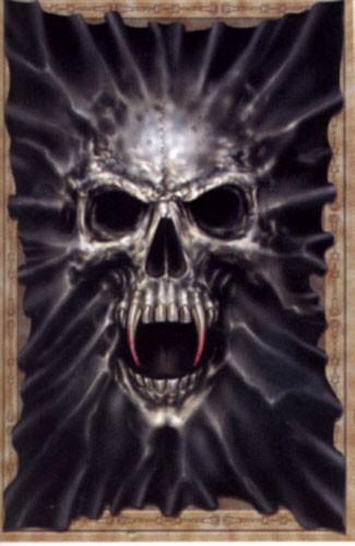 Totenkopf Poster 62x90 cm