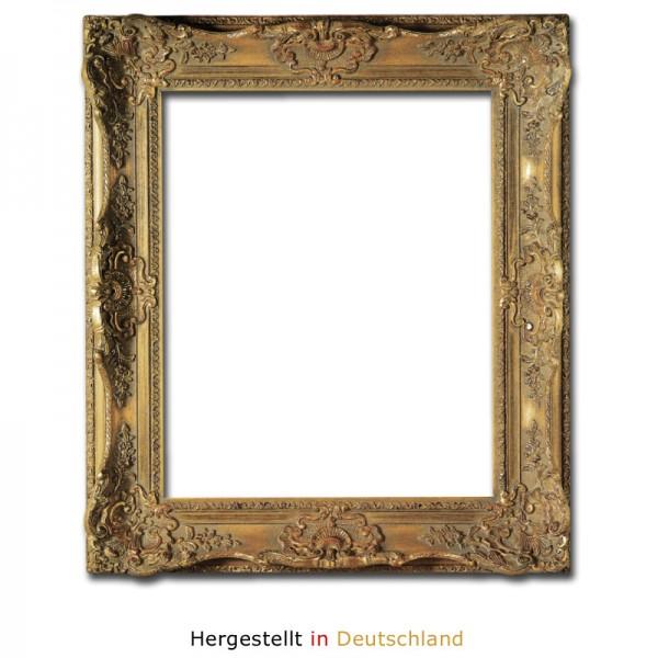 Barockrahmen Profilbreite 7,8 cm in Antikgold - Mozart