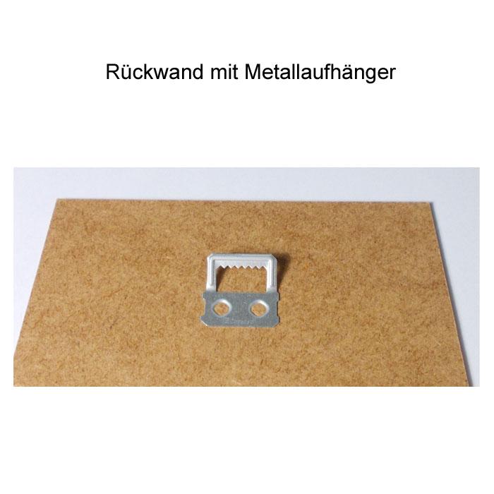 Bilderrahmen Für Zertifikat Urkunde In Din A4 Silber Matt