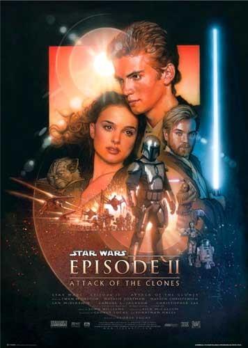 Star Wars, Episode II Angriff der Klonkrieger Poster
