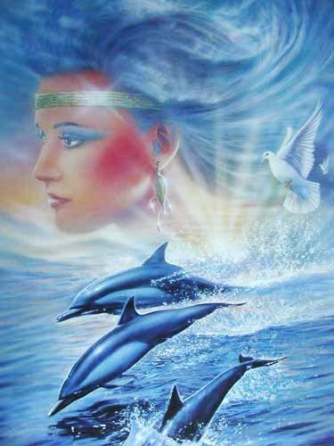 Delphin Fantasie Poster 40x50