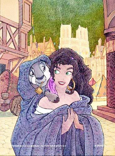 Der Glöckner von Notre-Dame, Esmeralda