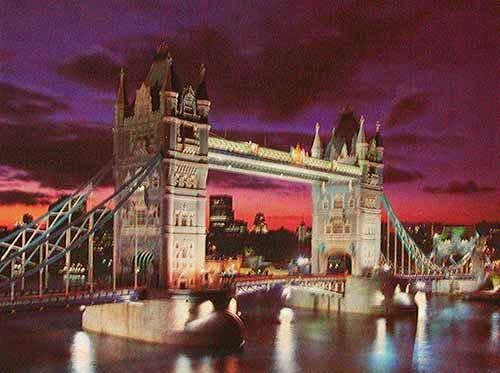 Tower Bridge at Dusk, London