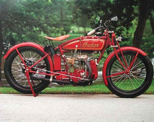 Indian Motorrad Poster 40x50