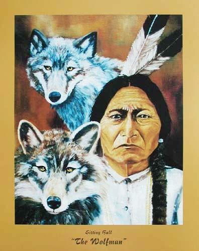 Sitting Bull, Wolfsmann