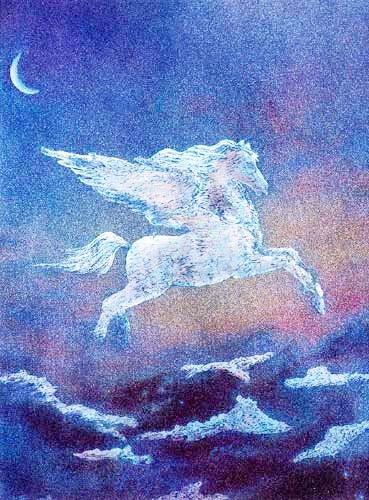 Pegasus by Jack Shalatain