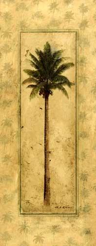 Kokosnusspalme Kunstdruck