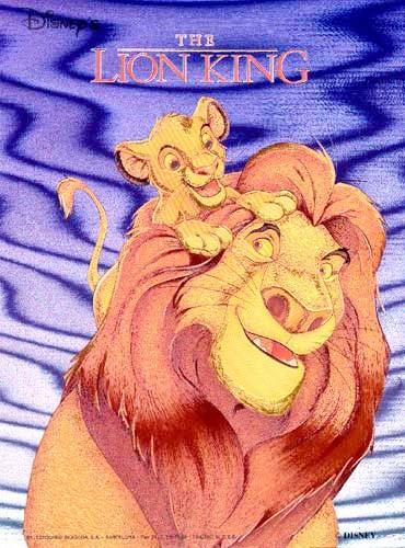 König der Löwen Bild 21x26