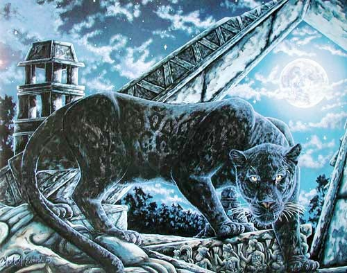 Schwarzer Panther by Mark A. E.
