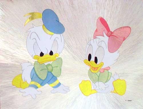 Donald, Daisy Baby Bild