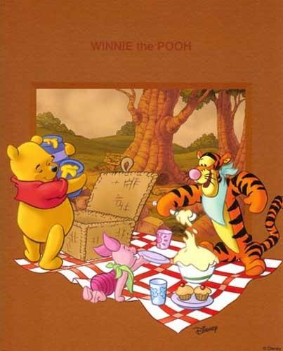 Winnie the Pooh - Picknick II