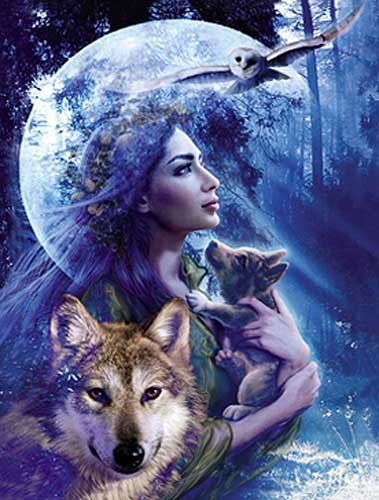 Moonlight Brethren Alu Bild 43x54 cm