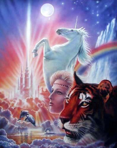 Königreich der Fantasie, Poster