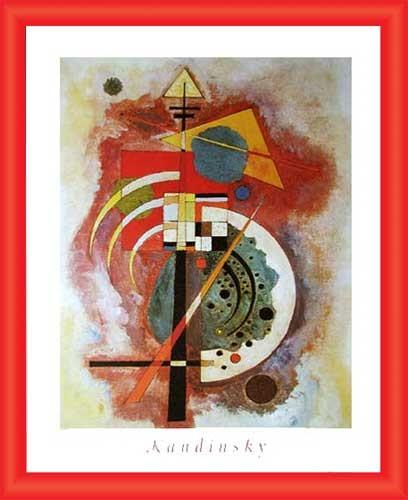 Wandbild Hommage a Grohmann, Kandinsky