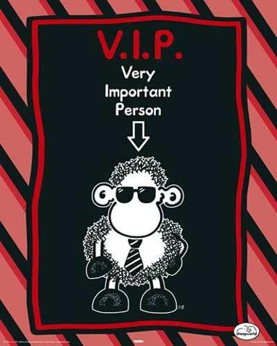 Sheepworld, VIP